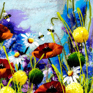 In The Meadow II - Original - SOLD