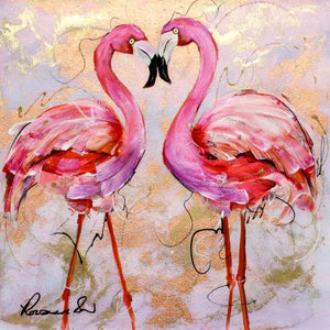 It's Just the Two of Us - Original Rozanne Bell Framed