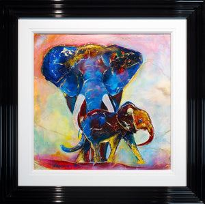 Maharaja and Son - SOLD Rozanne Bell