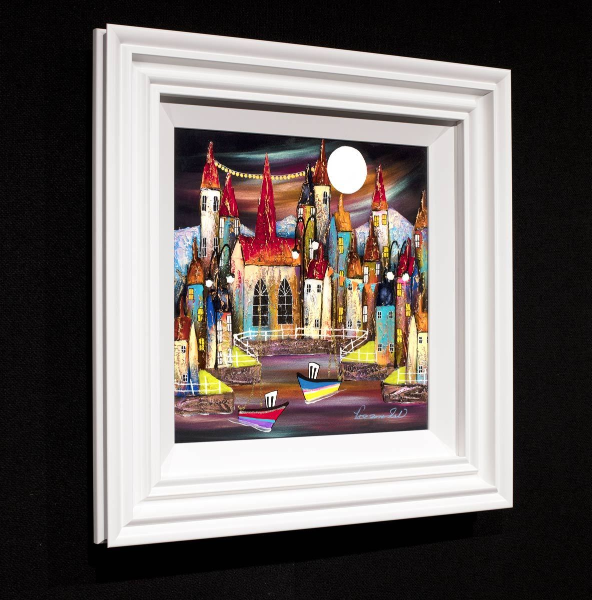 Midnight Escape - Original Rozanne Bell Framed