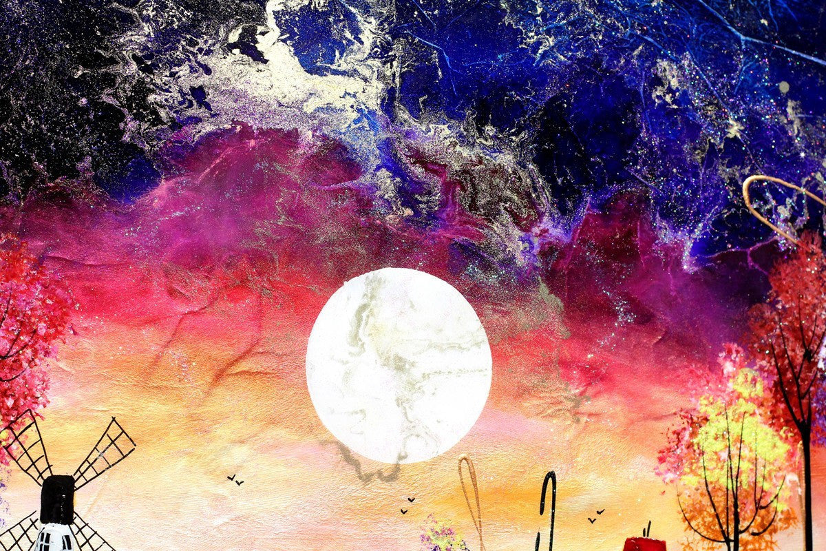 Moon Rising - SOLD Rozanne Bell