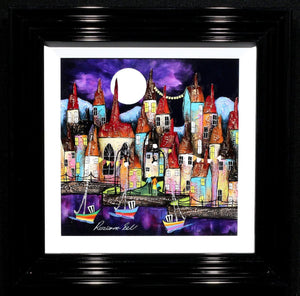 Moonlight Sailing - SOLD Rozanne Bell