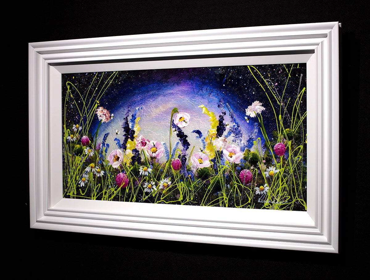 Mystic Meadow - Original Rozanne Bell Framed