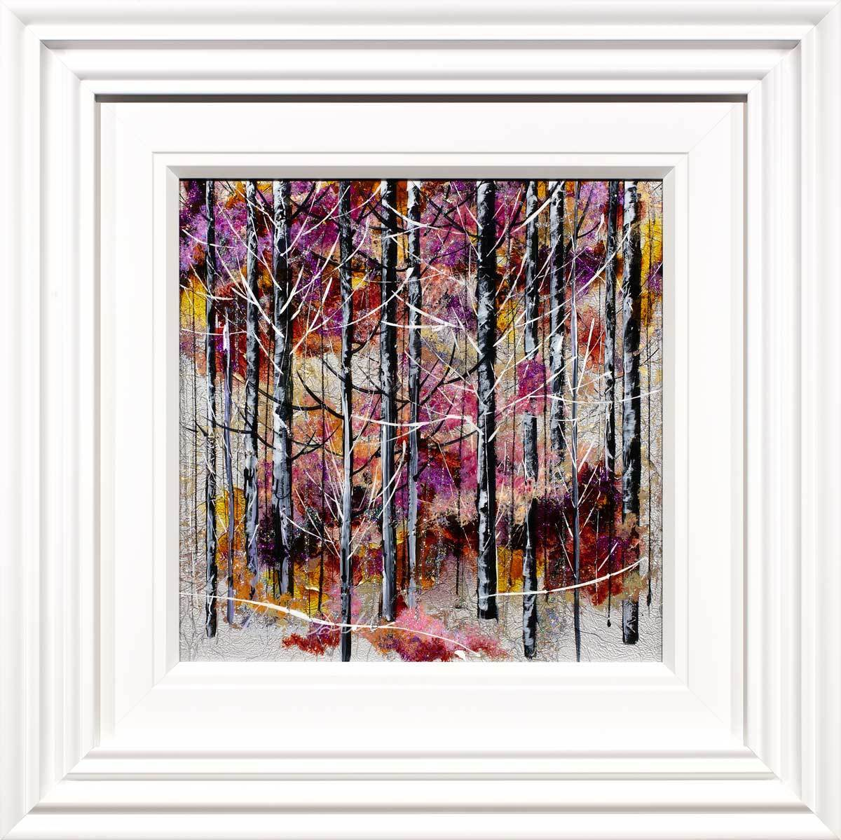Natural Treasures - Original Rozanne Bell Framed