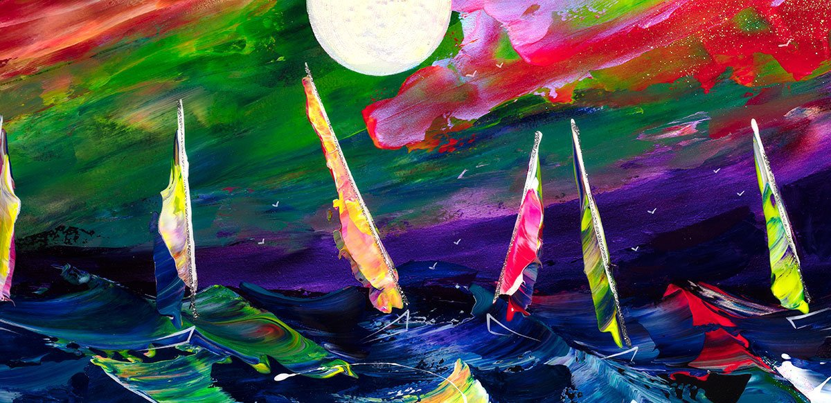 Neon Sails - Original - SOLD
