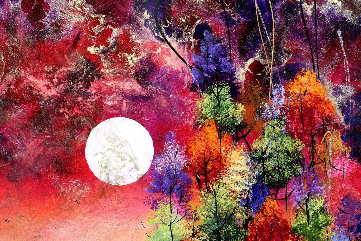 Night Colours - SOLD Rozanne Bell
