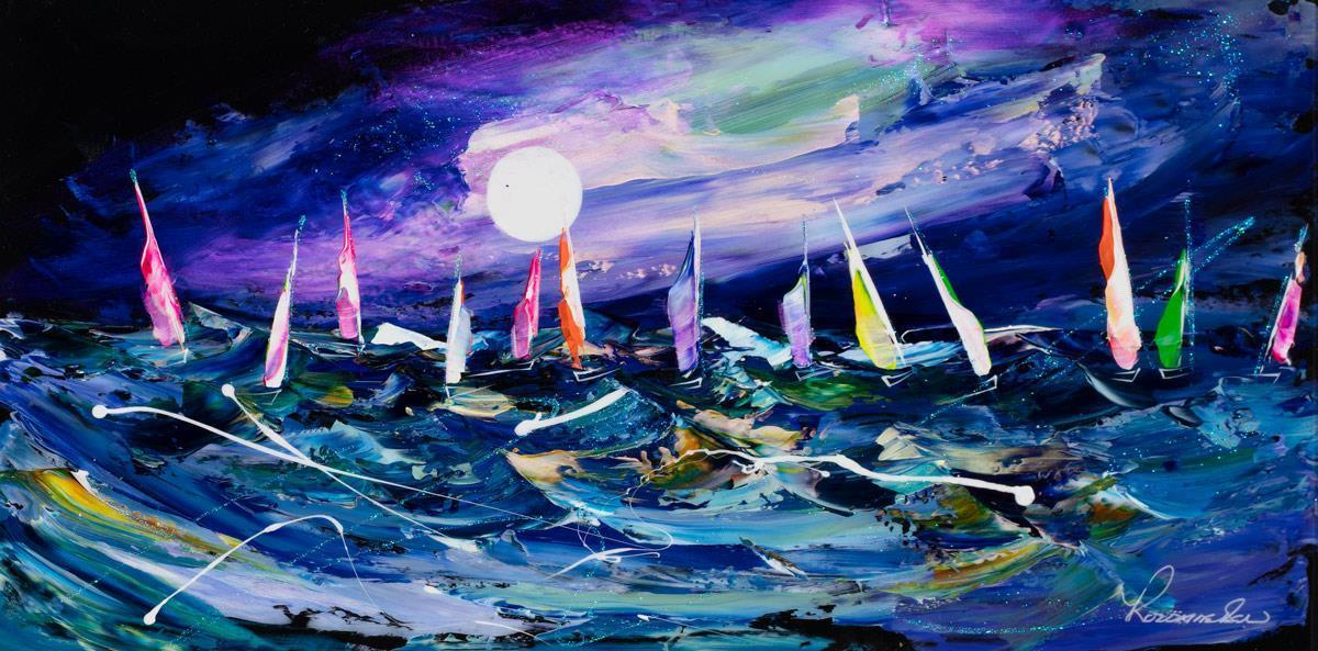 Night Sailing Rozanne Bell