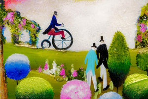 Penny Farthing on Parade Rozanne Bell