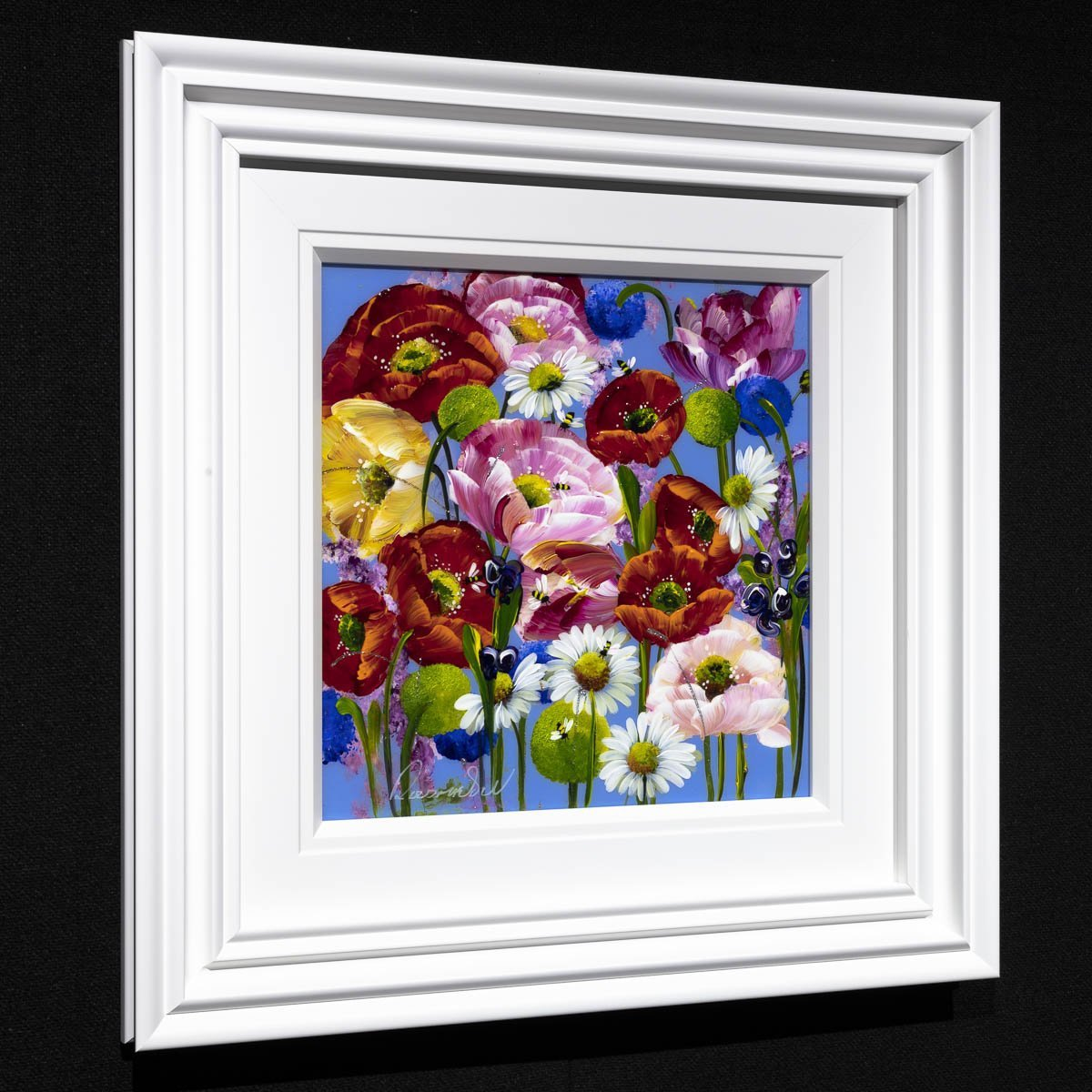 Picture Perfect - Original Rozanne Bell Framed
