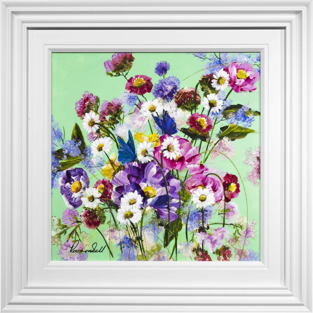 Pop Floral II - Original - SOLD