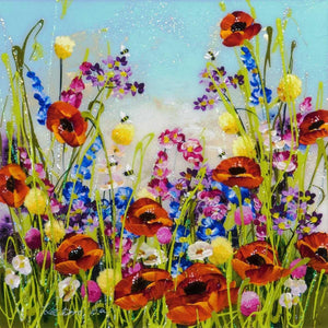 Poppies and Buttercups Rozanne Bell