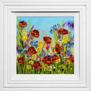 Poppies and Lilac Rozanne Bell
