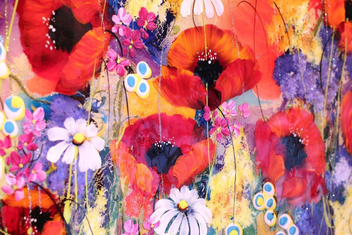 Poppy Dance - SOLD Rozanne Bell