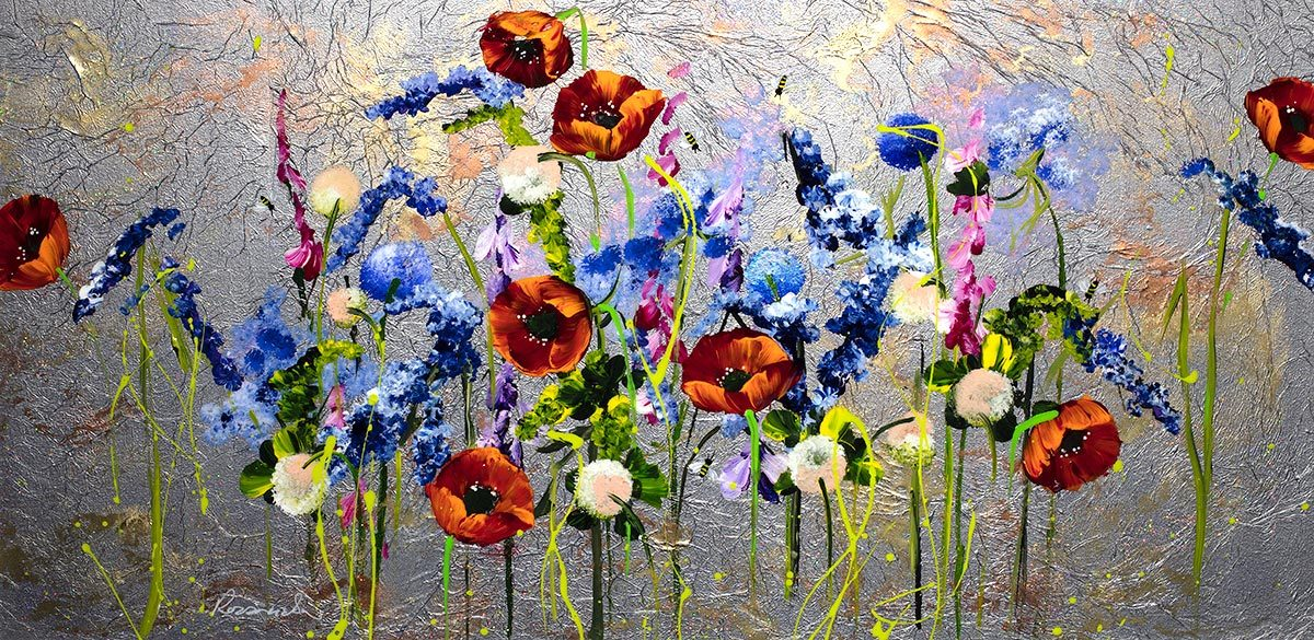 Poppy Panorama - Original - SOLD