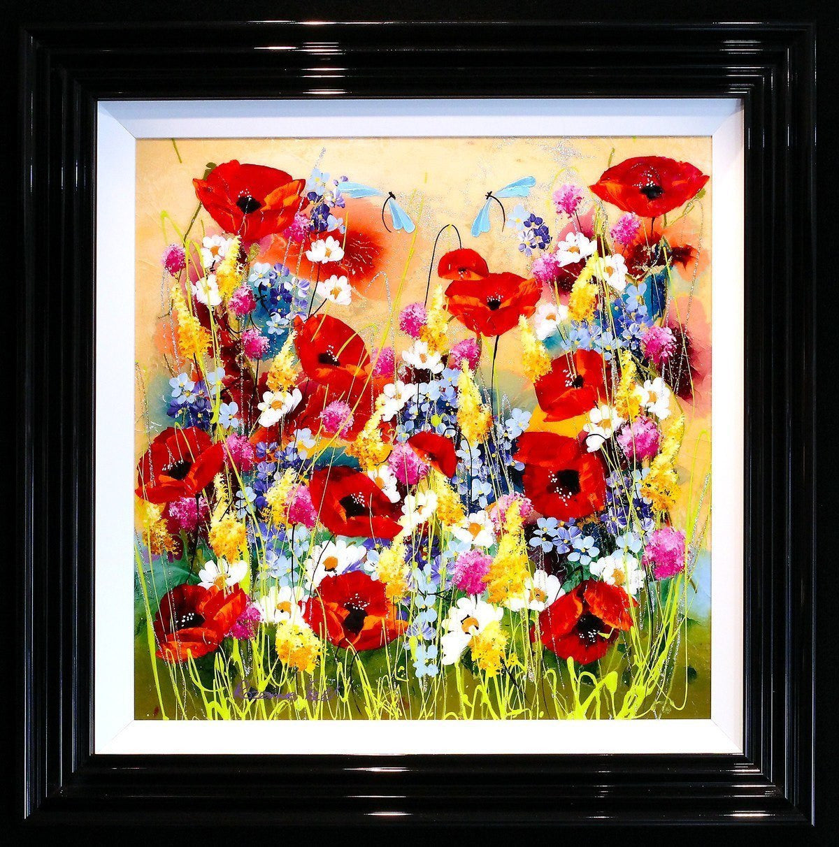 Poppy Shimmer - SOLD Rozanne Bell