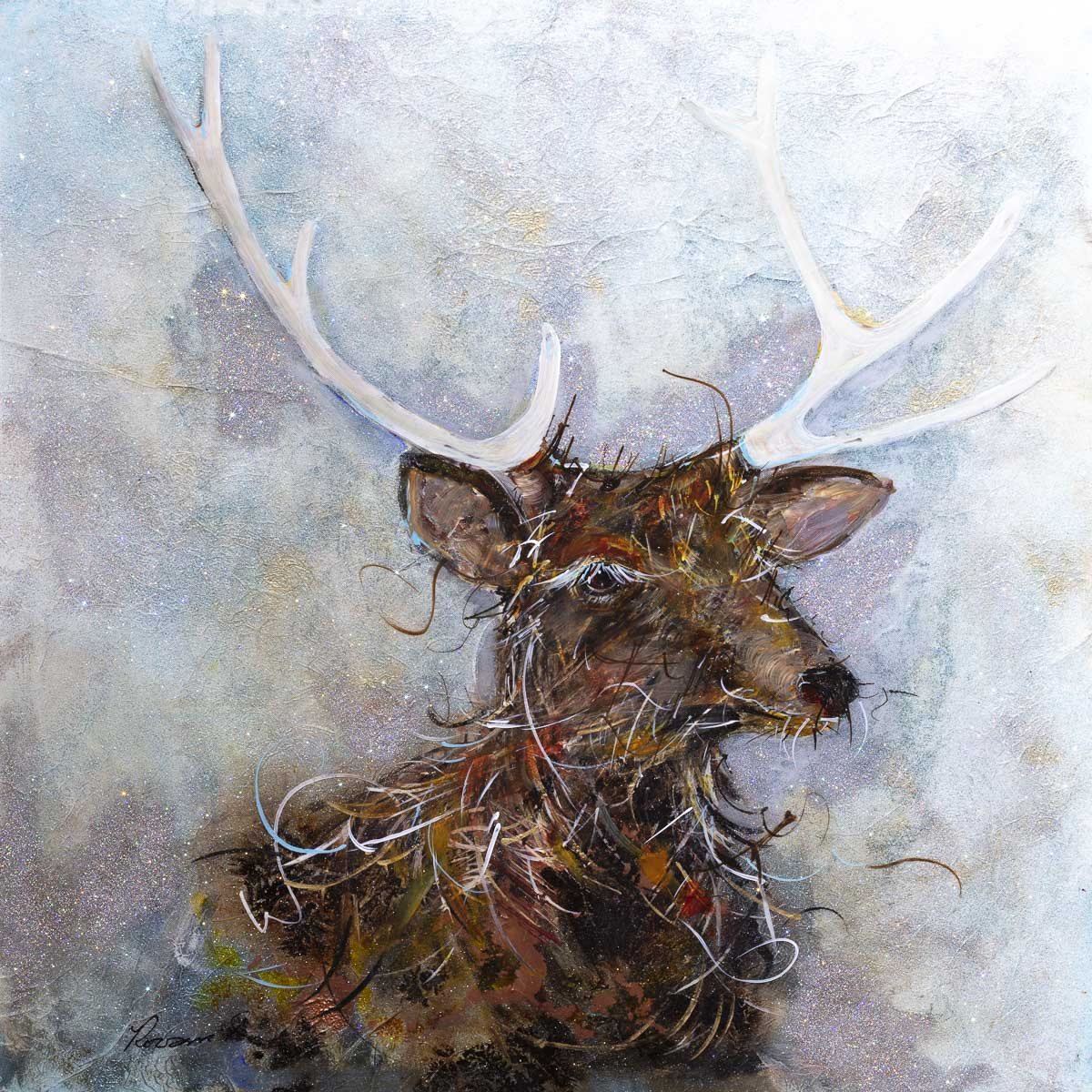 Prancer - Original - SOLD