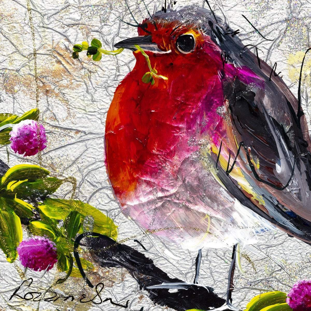 Red Breast - Original - SOLD