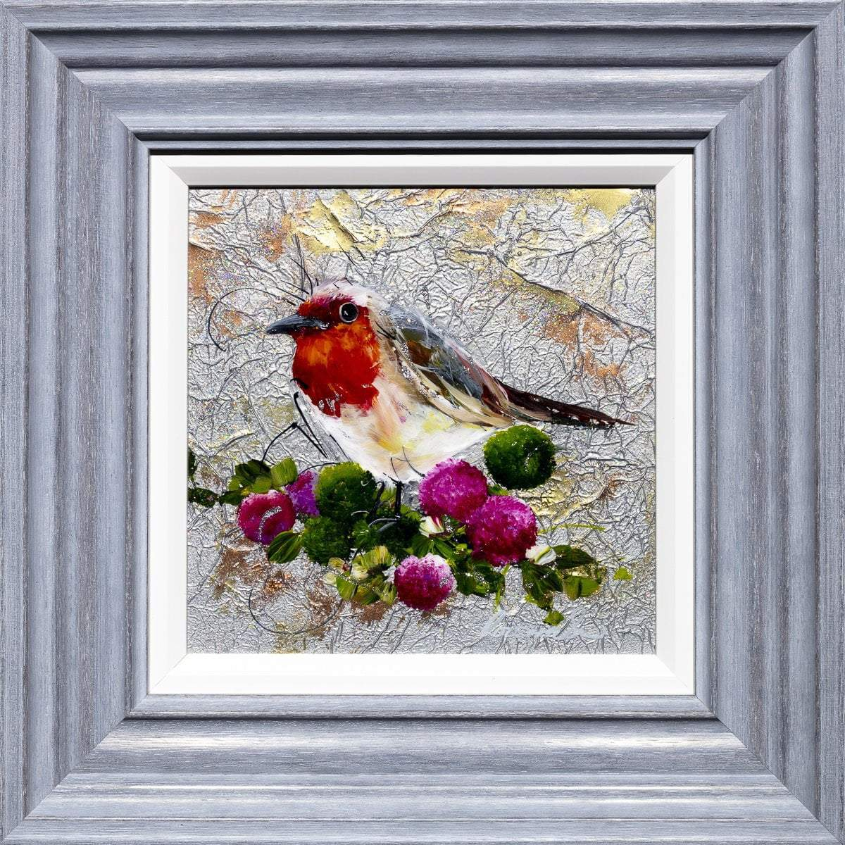 Say Hello - Original Rozanne Bell Framed