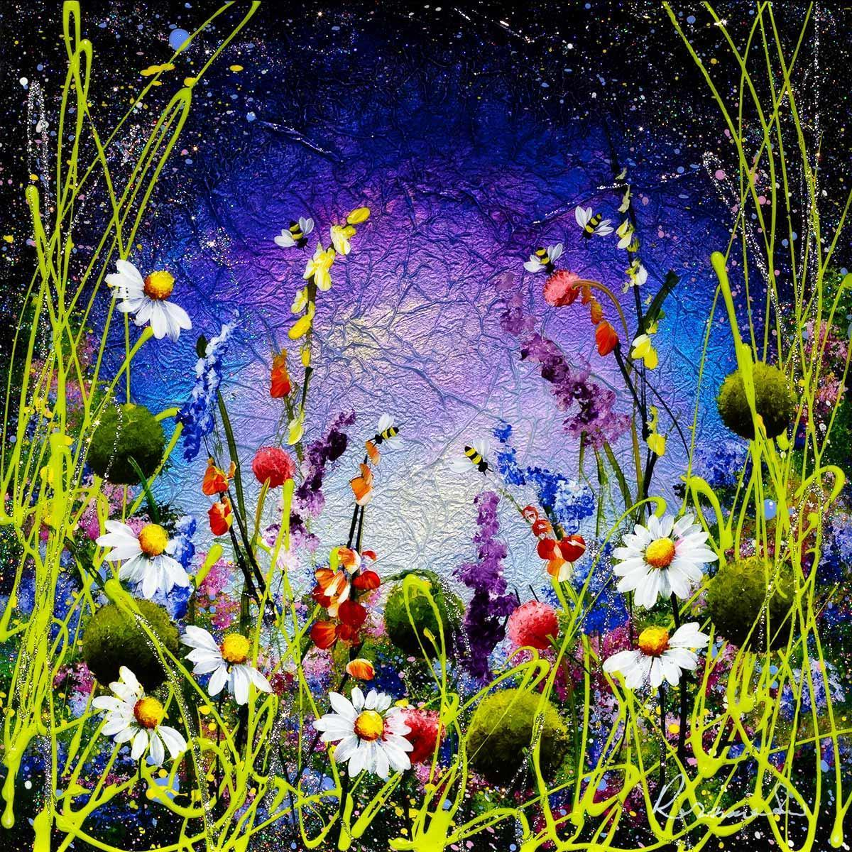 Sparkles In The Meadow I Rozanne Bell Framed