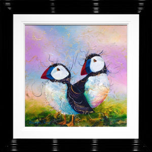 Stop For A Puffin - Original Rozanne Bell
