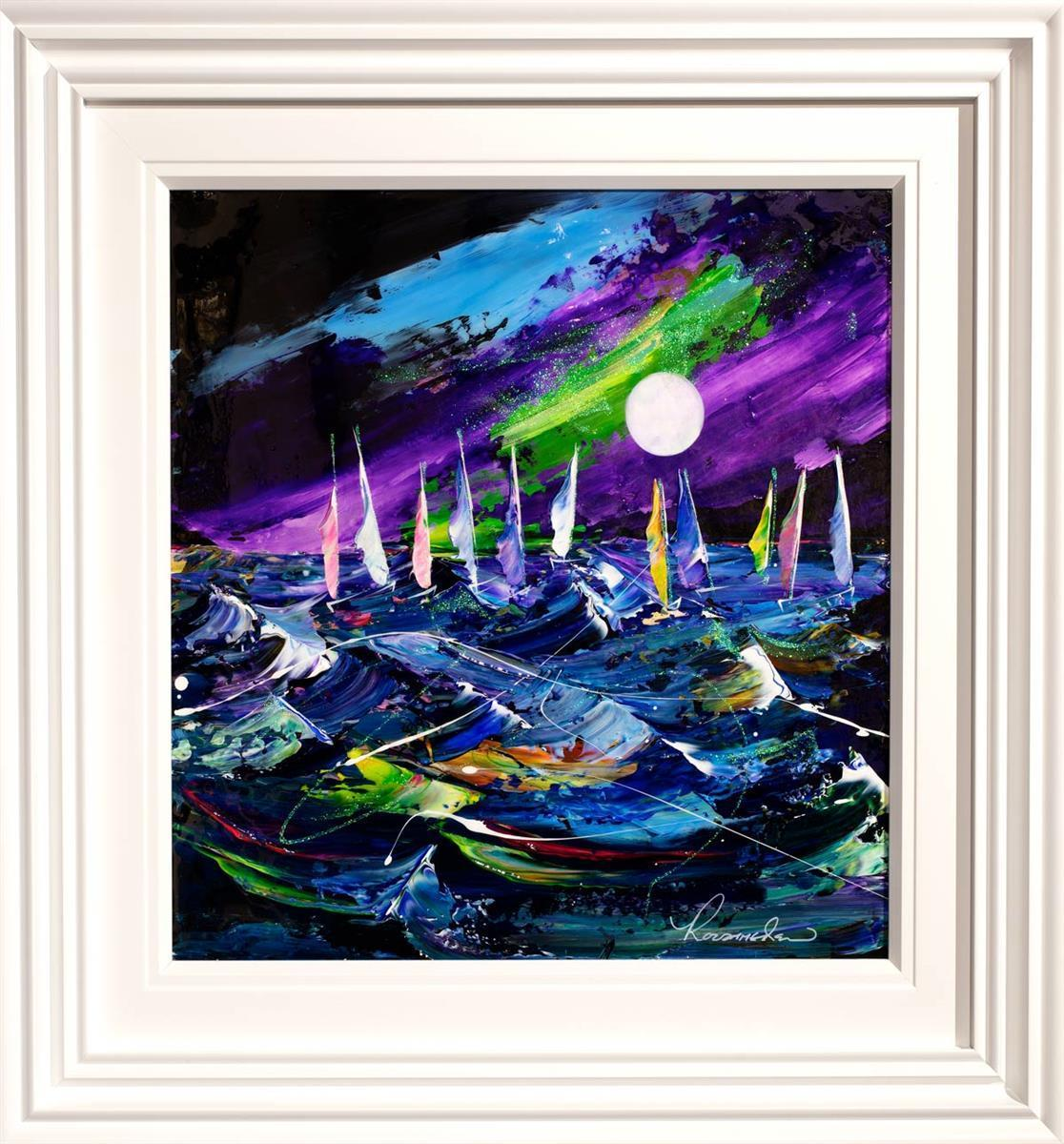Stormy Waves - Original Rozanne Bell