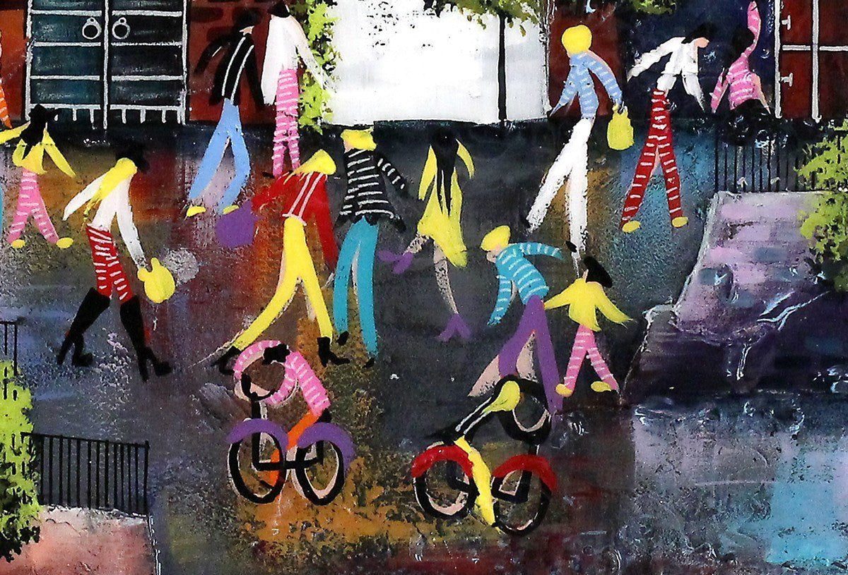 Street Party - SOLD Rozanne Bell