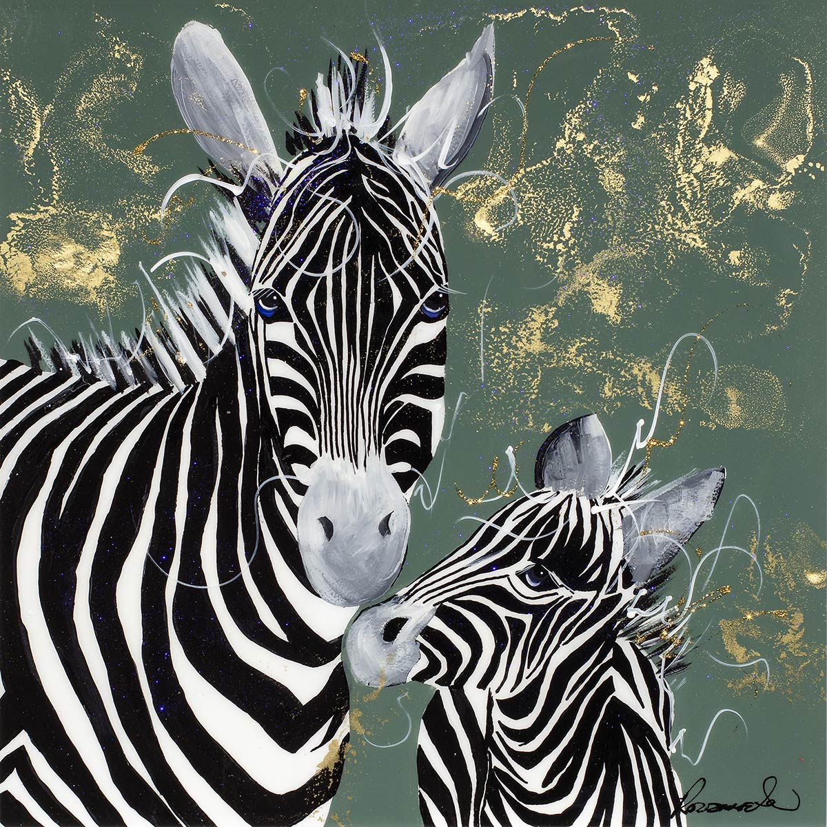 Striped Alike - Original - SOLD