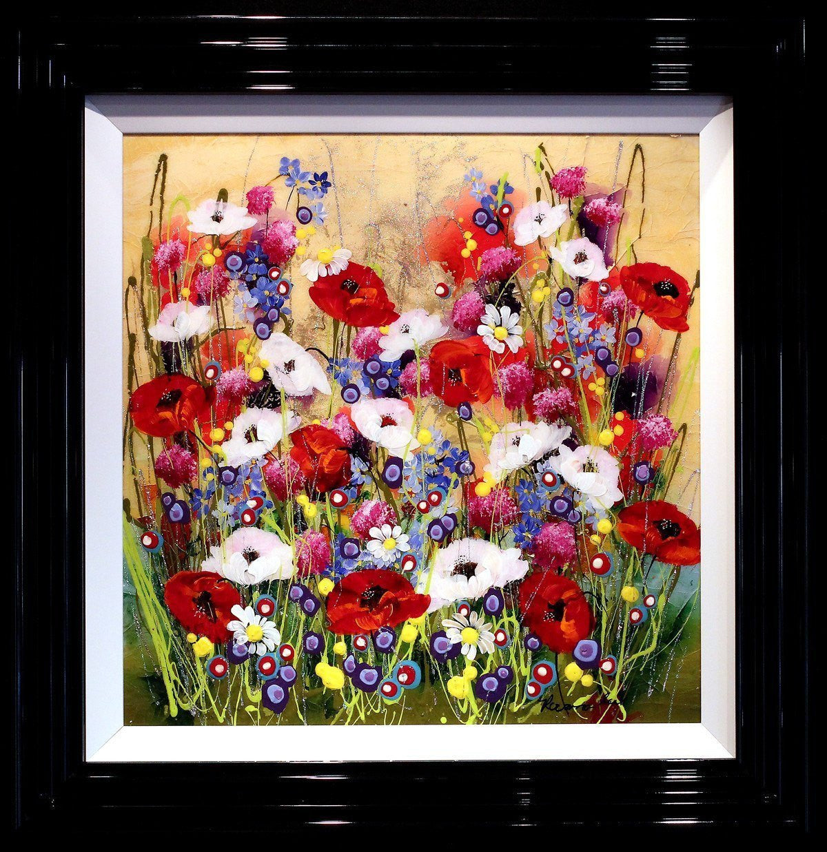Summer Blooms - SOLD Rozanne Bell