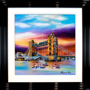 Summer Gathering at Tower Bridge - SOLD Rozanne Bell