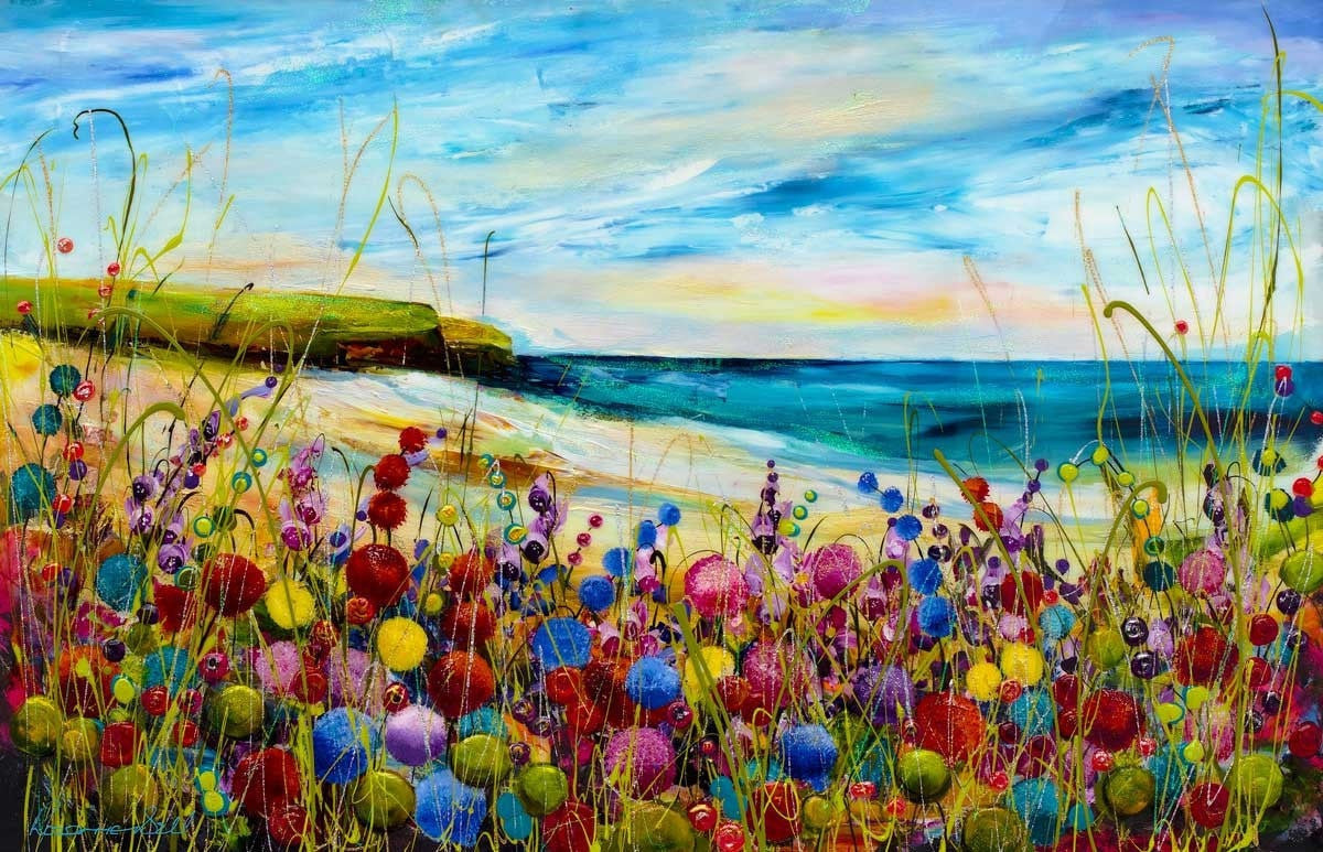 The Beauty Of The Beach -SOLD Rozanne Bell