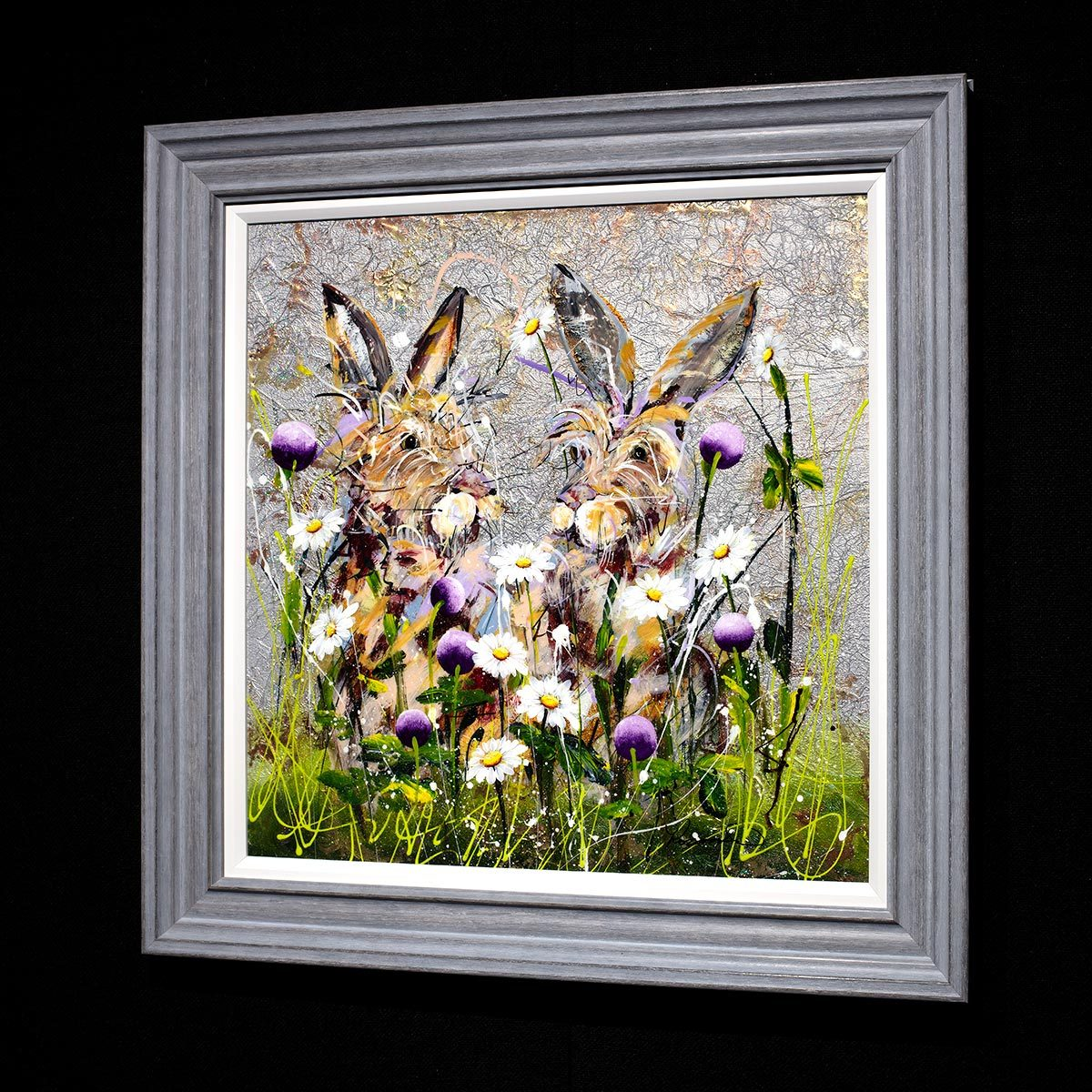 The Perfect Pair - Original Rozanne Bell Framed