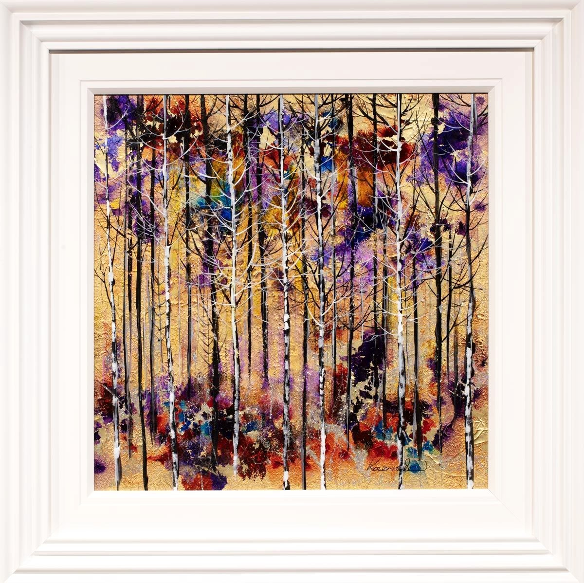 Through The Forest Rozanne Bell Framed