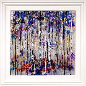 Twilight Forest Rozanne Bell Framed