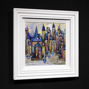 Twilight Tide - Original Rozanne Bell Framed