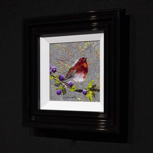 Winter's Melody Rozanne Bell Framed