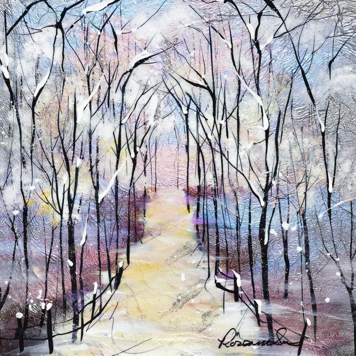 Winters Beauty I - Original - SOLD