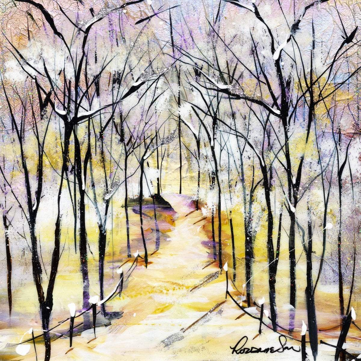 Winters Beauty II - Original - SOLD