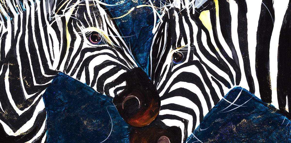 Zebras - Original - SOLD