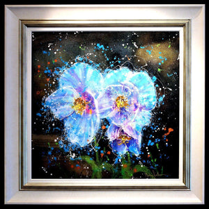 Blue Cornflowers - SOLD Ruby Keller