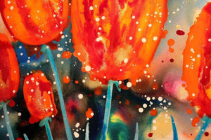 Bright Tulips - SOLD Ruby Keller