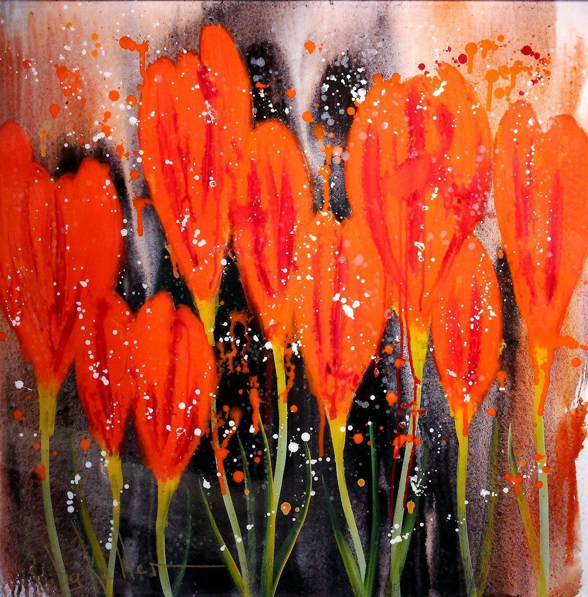 Crocus in Bloom - SOLD Ruby Keller