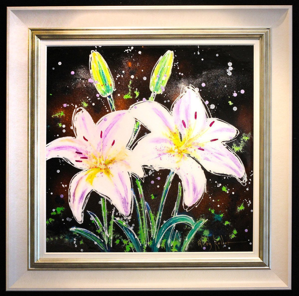 White Lilies I - SOLD Ruby Keller