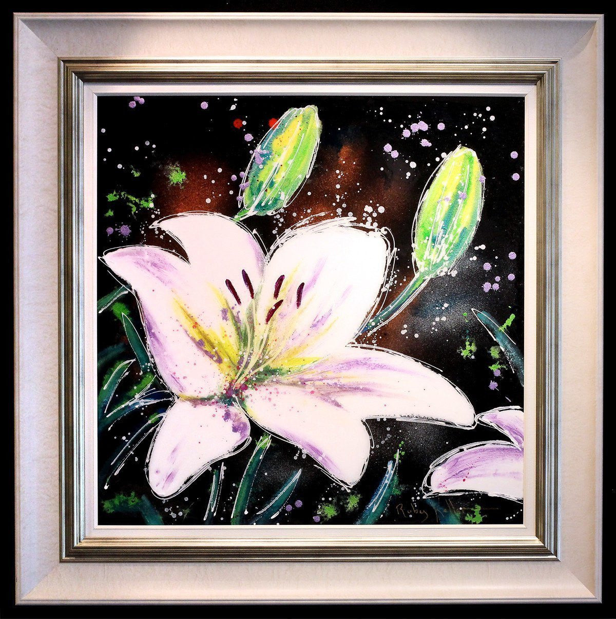 White Lilies II - SOLD Ruby Keller