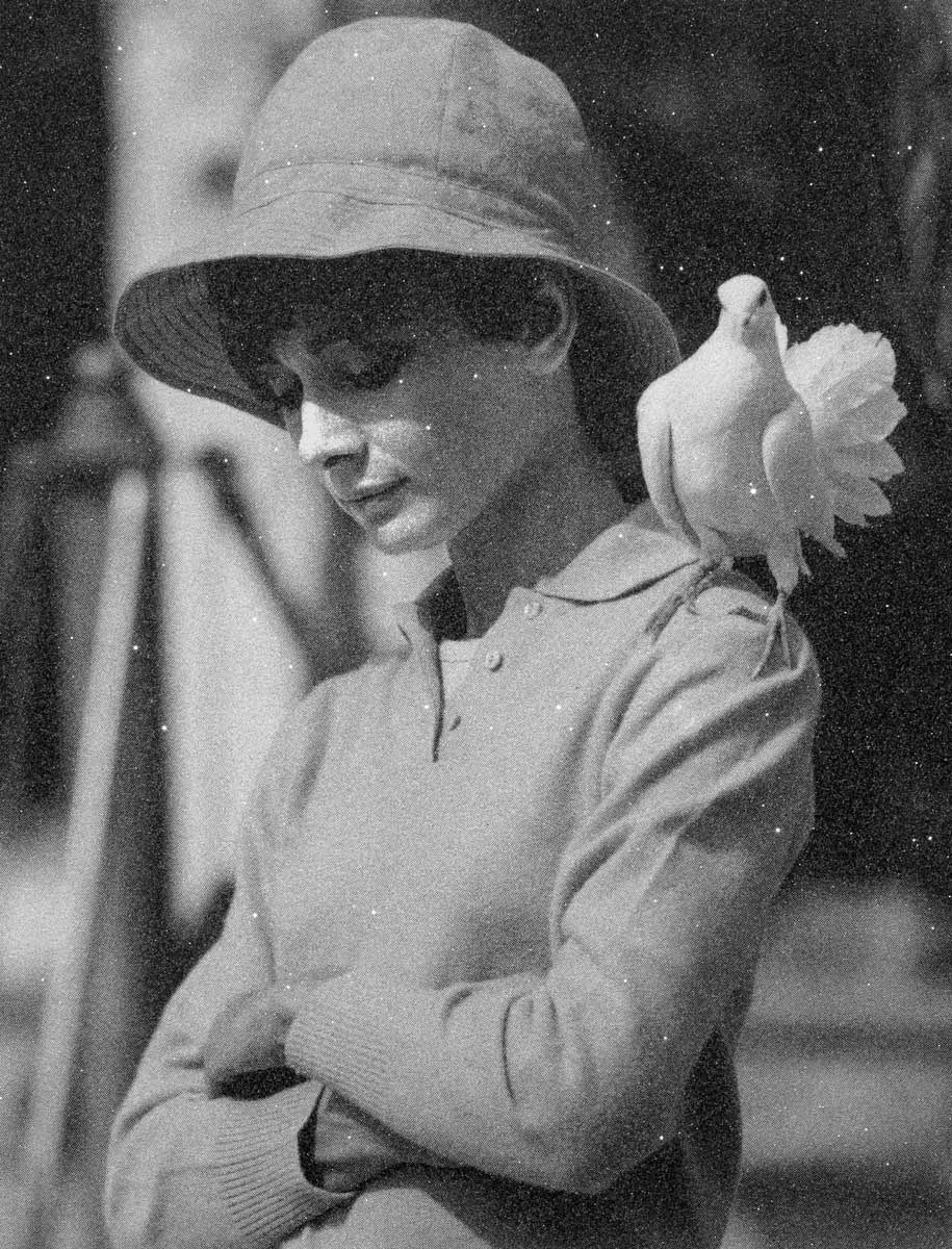 Hepburn with Dove Simon Claridge