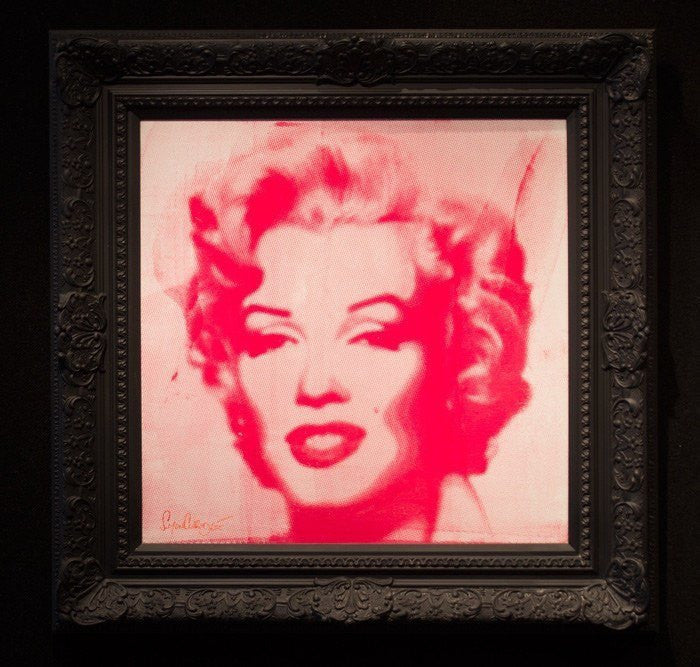 Marilyn - Screen Print - SOLD Simon Claridge