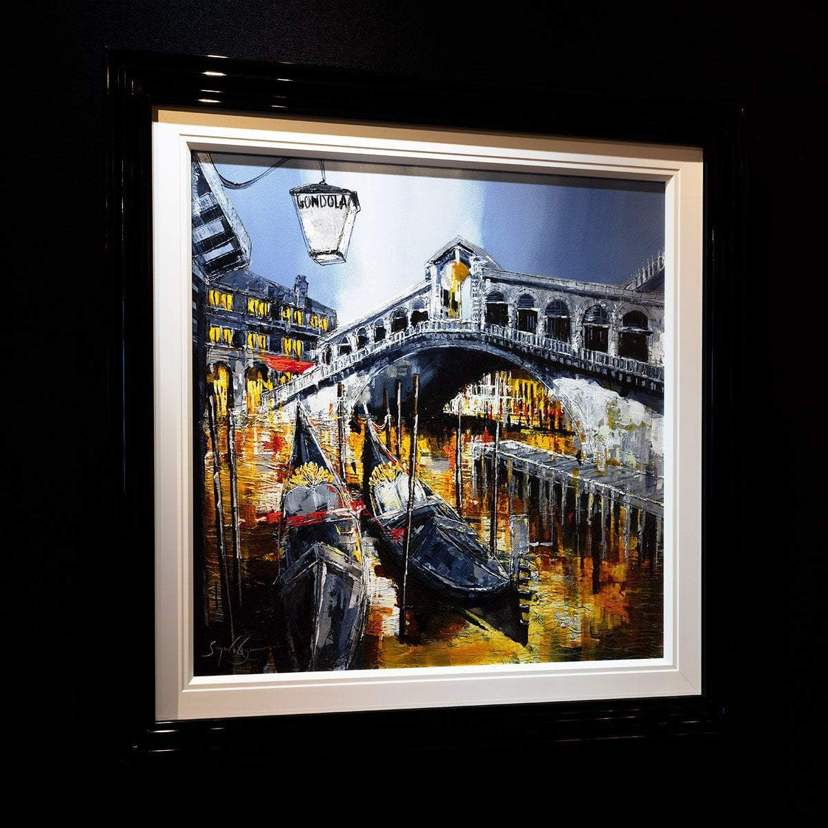 A Tour of Venice - Original Simon Wright Framed