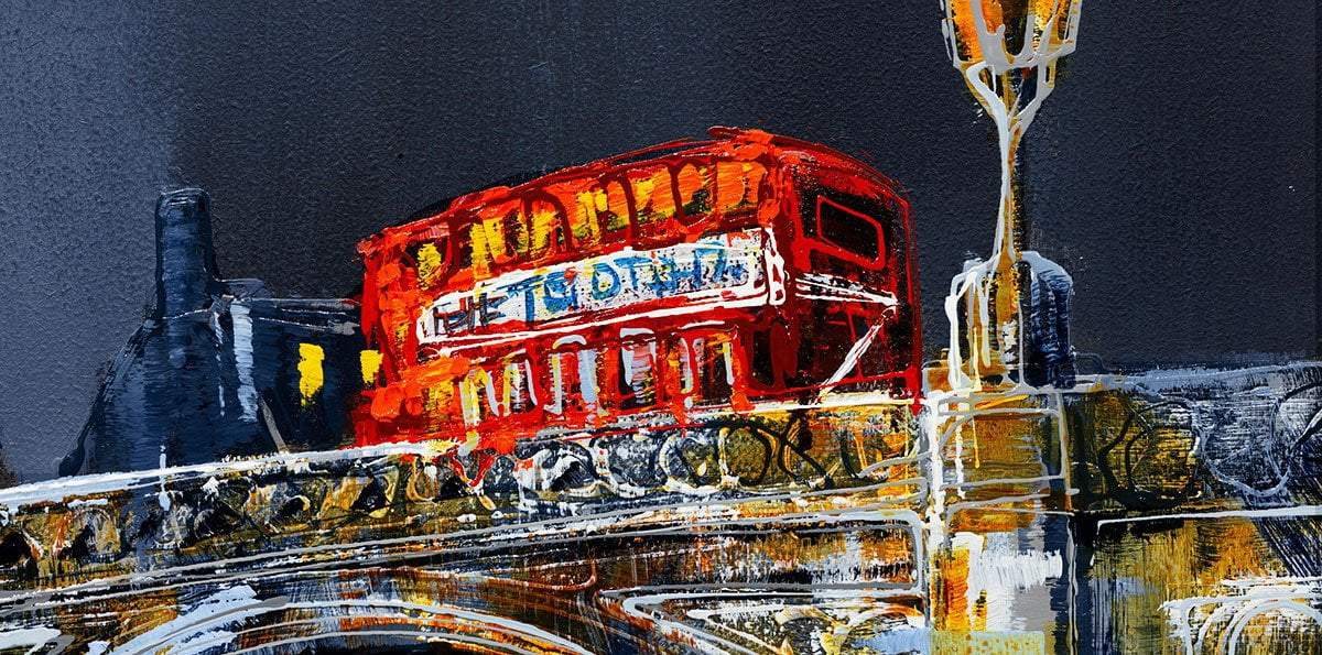 Across the Thames II - Original - SOLD