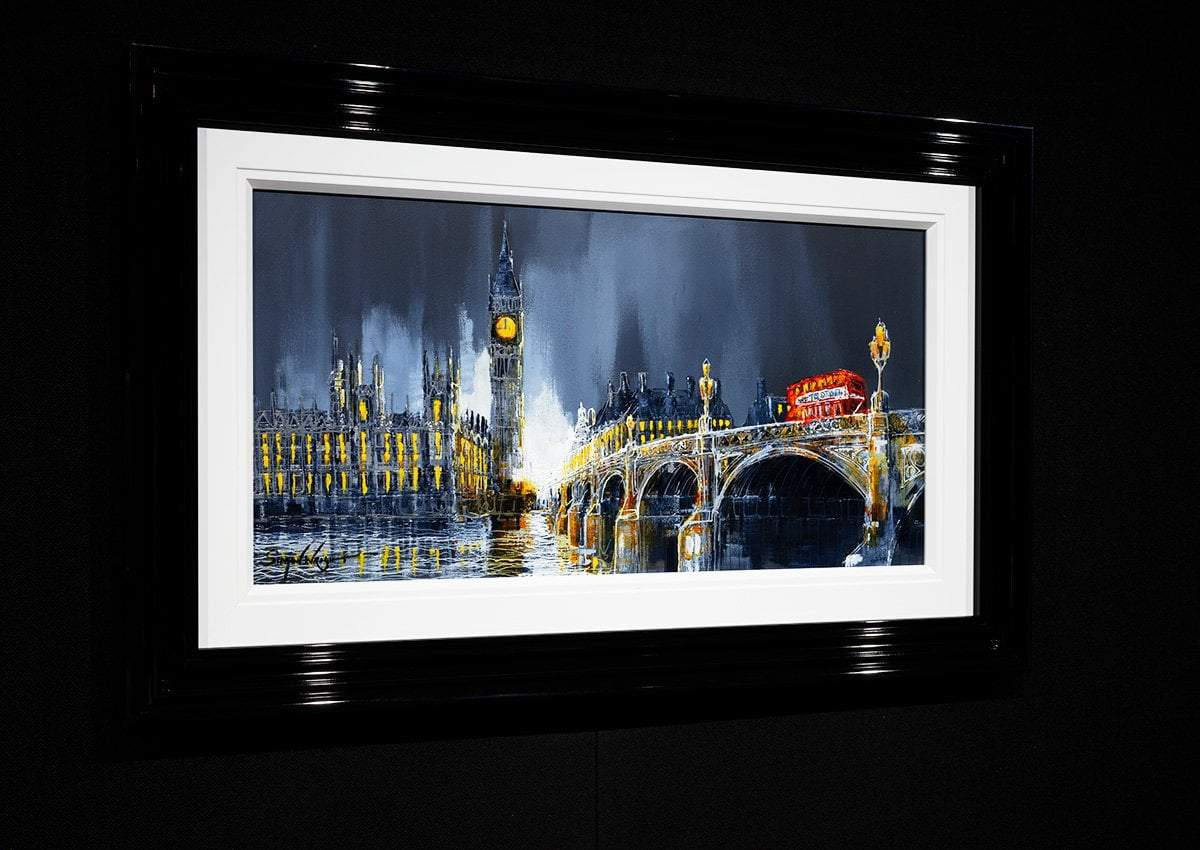 Across the Thames II - Original Simon Wright Framed
