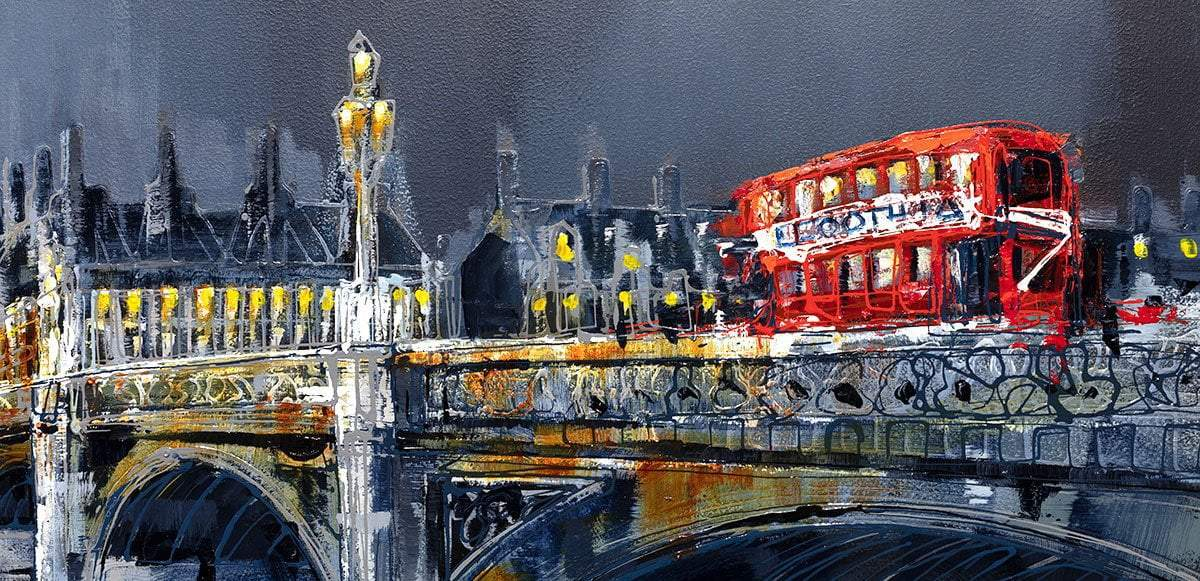 Across The Thames - Original - SOLD