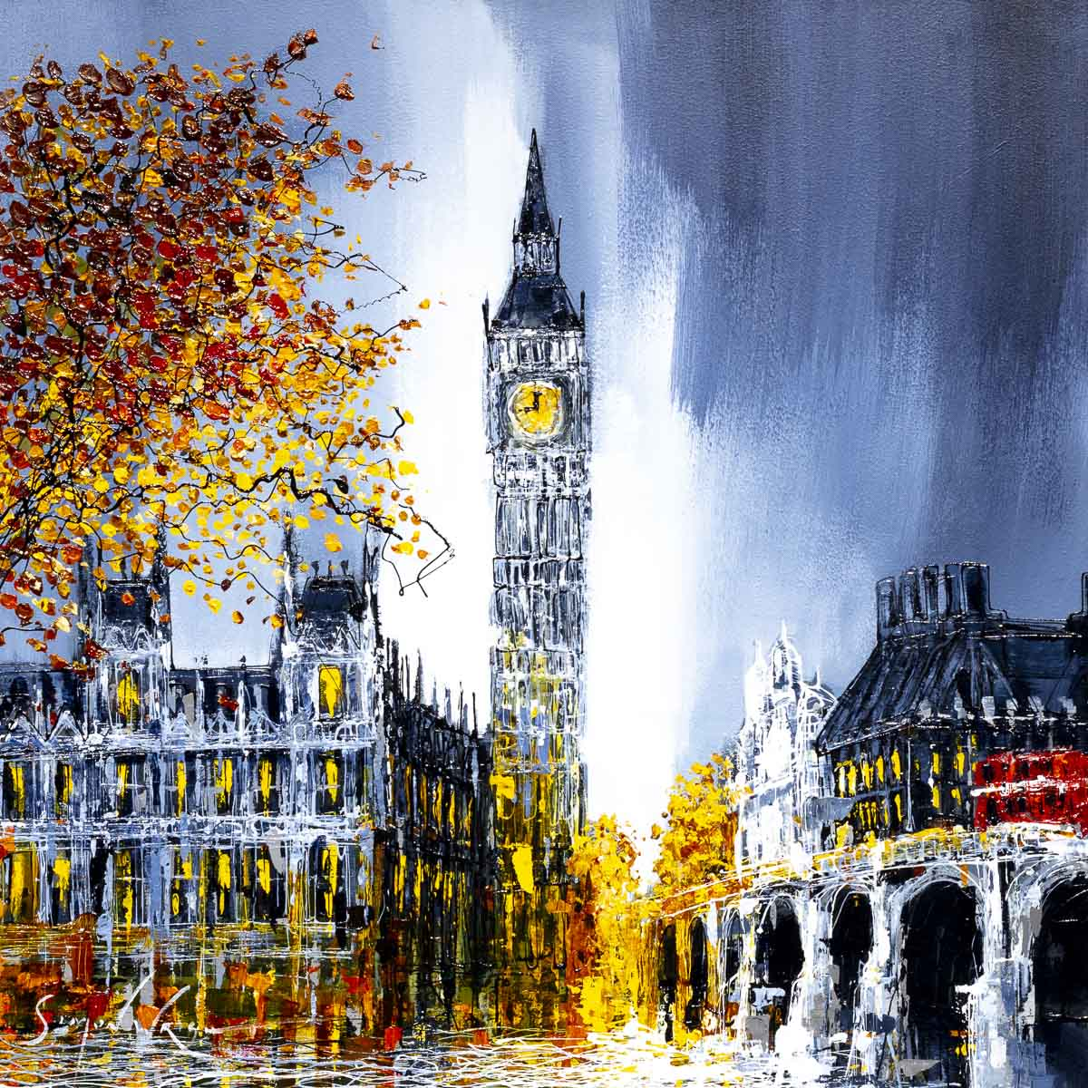 Big Ben at Night - Original